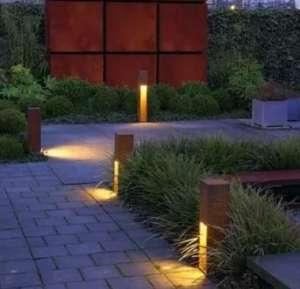 庭院设计中景观灯的布置原则中山